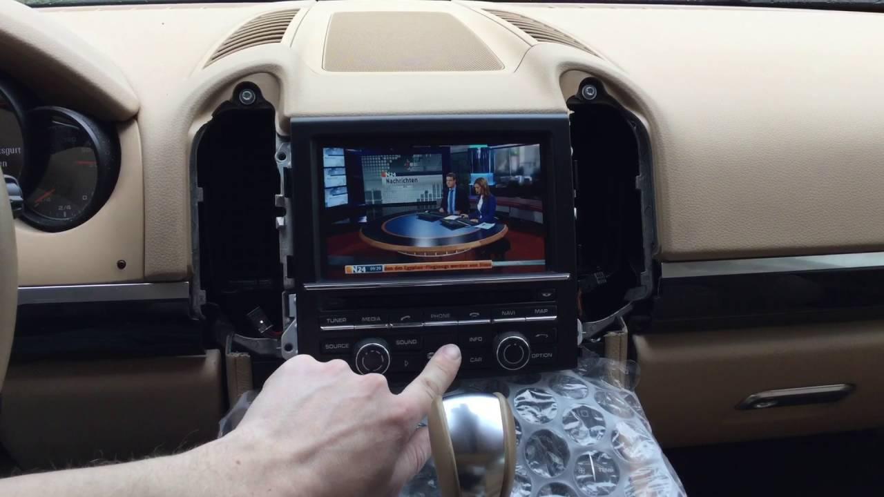 porsche cayenne original navigation pcm 3 1 android dvb. Black Bedroom Furniture Sets. Home Design Ideas