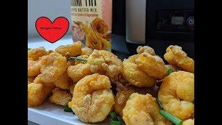 LOUISIANA CRISPY SHRIMP FRY FRIED SHRIMP AIR FRYER