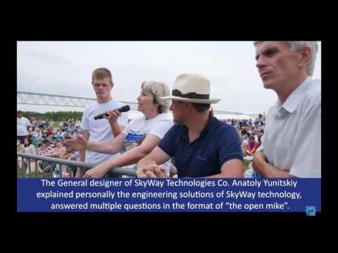 Introduction to the SkyWay Technology.  Once in a lifetime opportunity (10.07.2017)