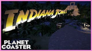 INDIANA JONES and the Temple of the Idol! Ride Spotlight 48 #PlanetCoaster