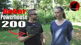 That's a lot of Power! - Anker PowerHouse 200 - Review