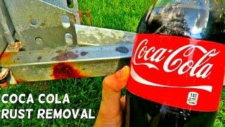 Coca Cola Rust Removal