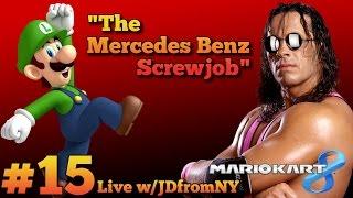 "MK8 ""Mercedes Benz DLC"" Multiplayer Gameplay   Mario Kart 8 Live #15   The Mercedes Benz Screwjob"