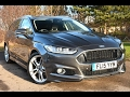 Used Ford Mondeo 2.0 TDCi 180 Titanium 5dr Powershift Magnetic Grey 2015