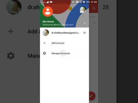 Remove Google Account from Gmail App after deleting a google account | Remove account from gmail app