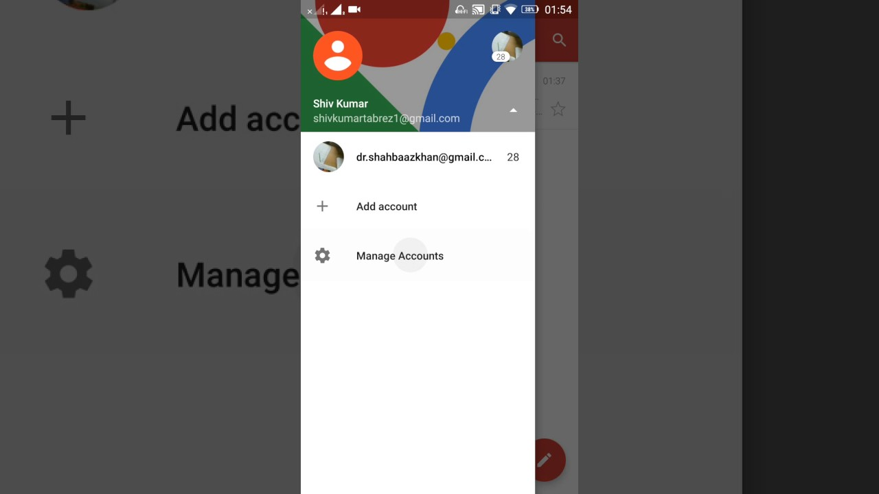disconnect app from google account