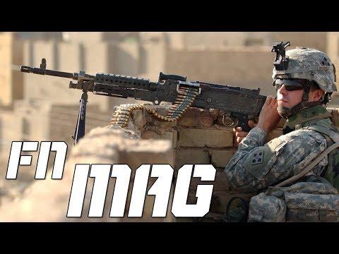 FN MAG - A Metralhadora leve mais usada no Mundo