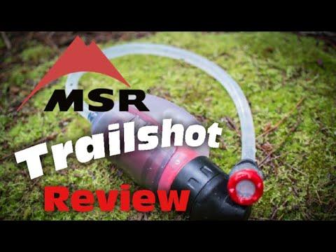 MSR Trailshot water filter review - Ultralight backpacking filter (plus integrity test)
