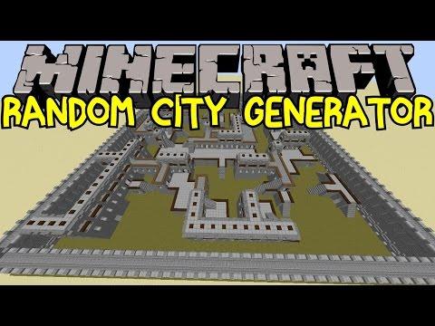 Random City Generator! | Incredible Minecraft Creation! | Vanilla