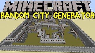 Baixar Random City Generator! | Incredible Minecraft Creation! | Vanilla | No Mods
