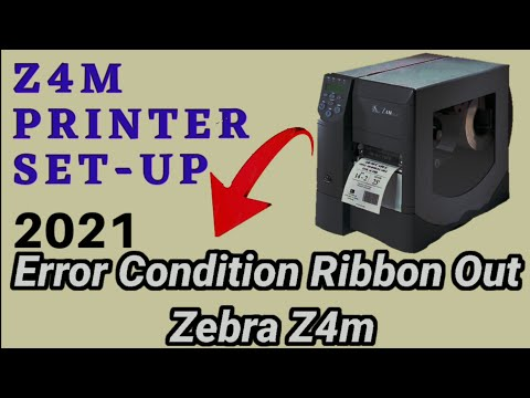 Download How To Fix Ribbon Out Error On Zebra Printer Zm400