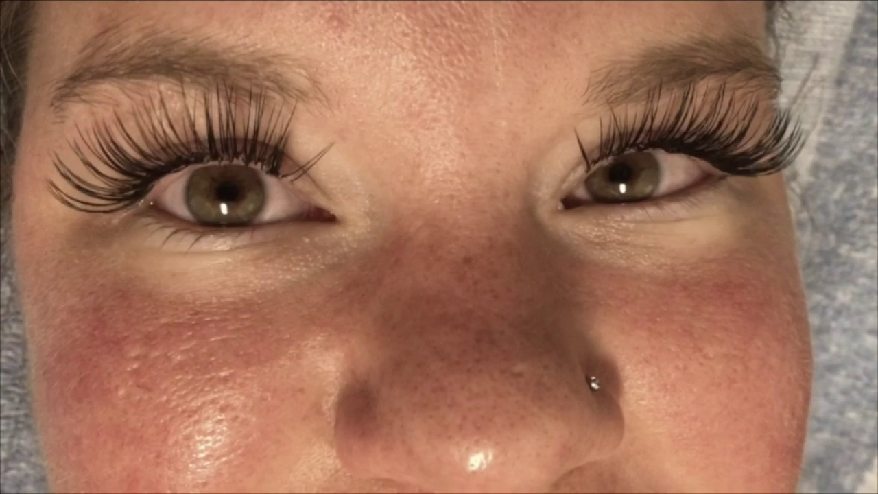 Eyelash Extensions Classic Full Set 16mm Length Oahu Hawaii Youtube