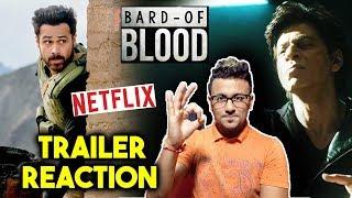 Bard Of Blood Official Trailer Reaction | Review | Emraan Hashmi | Shahrukh Khan | Netflix