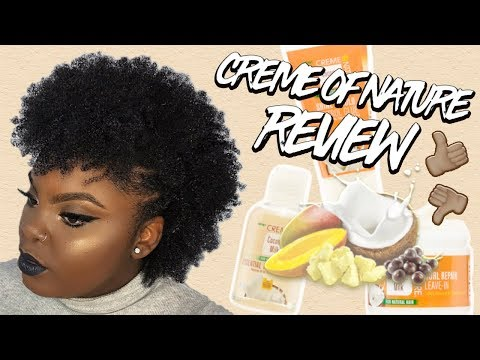 NEW Creme of Nature: Coconut Milk Collection Review on 4C Natural Hair | JOYNAVON