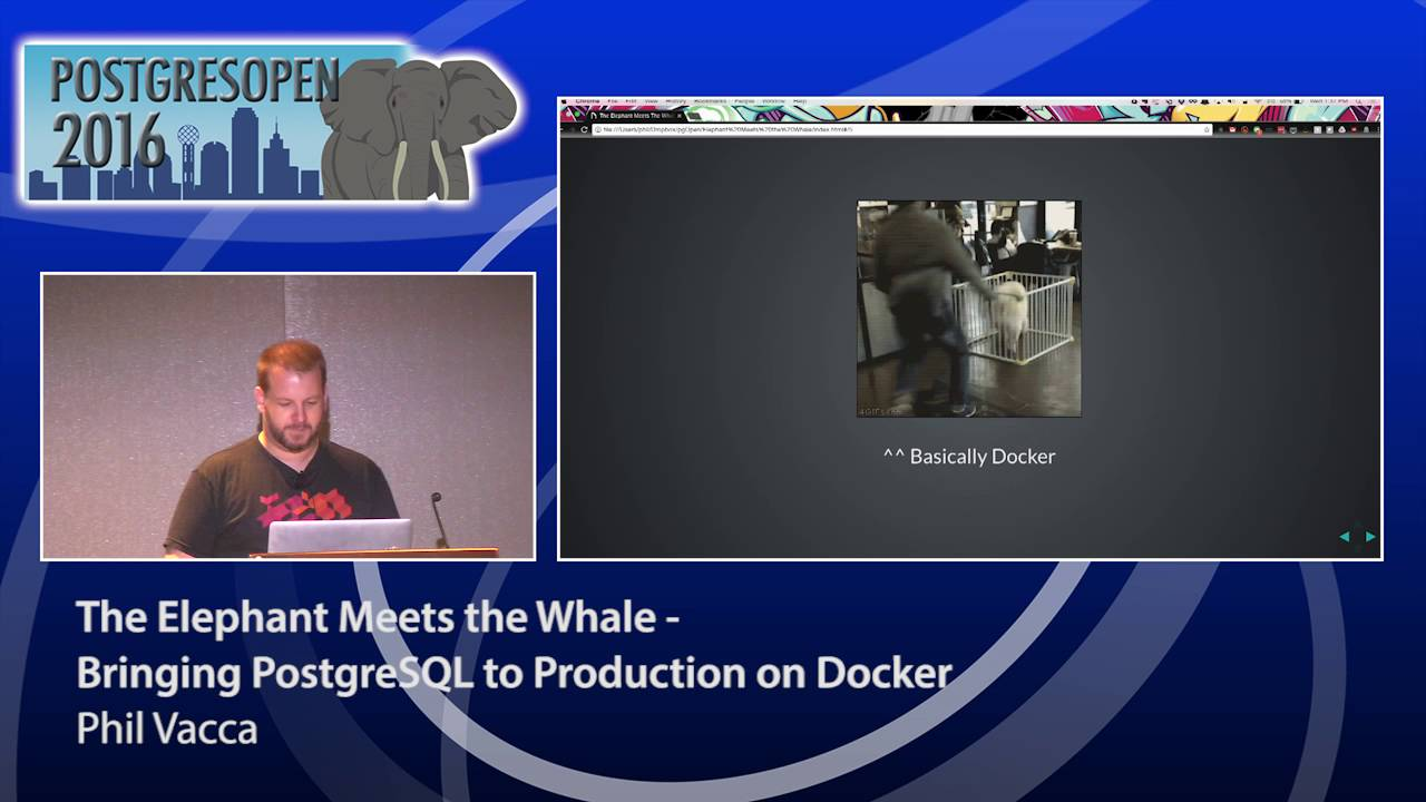 The Elephant Meets the Whale - Bringing PostgreSQL to