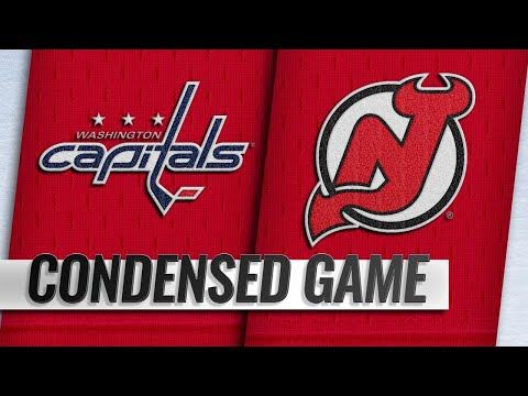 10/11/18 Condensed Game: Capitals @ Devils