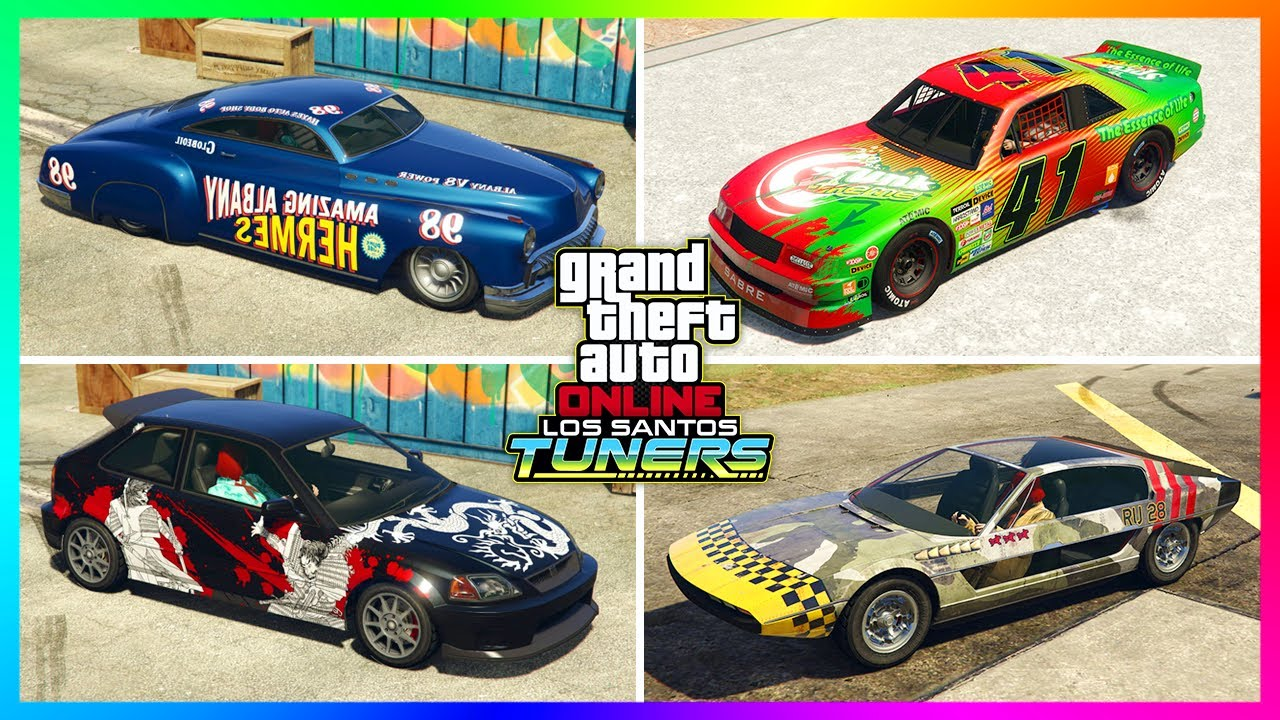 Download ALL Secret & Hidden Liveries For the NEW Los Santos Tuners DLC Update Cars & Vehicles In GTA Online!