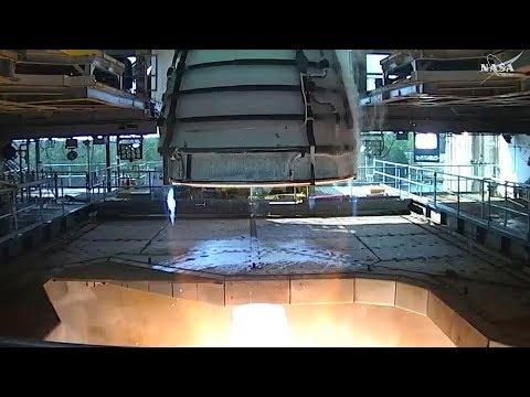 Full NASA RS-25 Full Throttle Testfire - Updating The Space Shuttle Main Engine For SLS