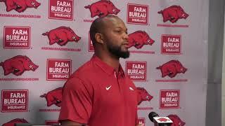 Trumain Carroll on becoming Arkansas' strength coach
