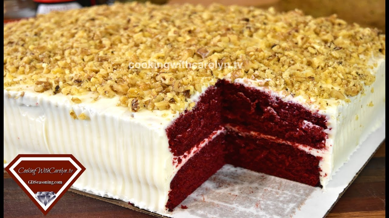 MY 1st RED VELVET SHEET CAKE HOW TO MAKE A SHEET CAKE PRACTICING