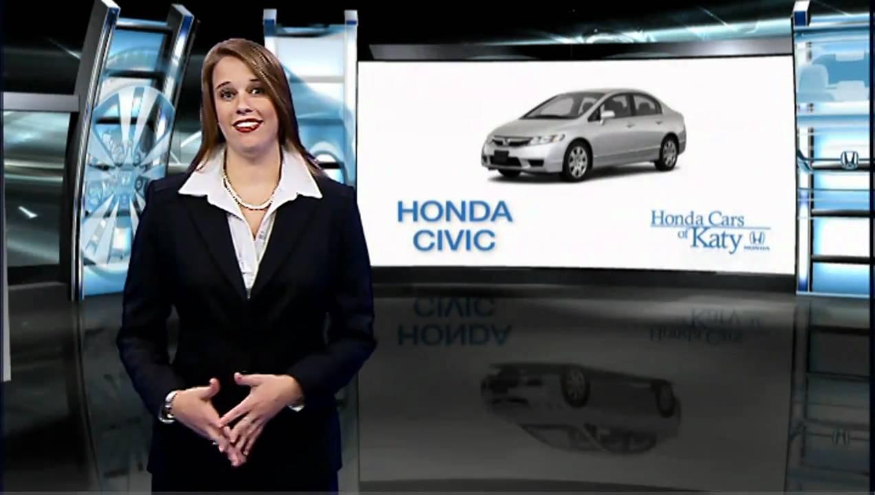 Honda Cars of Katy - Honda Civic - YouTube