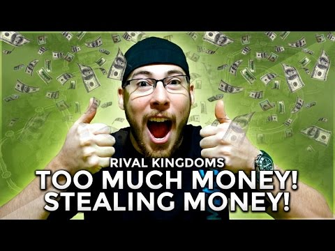 "IM RICH! Killing People and Taking Their GOLD! ""Rival Kingdoms"""