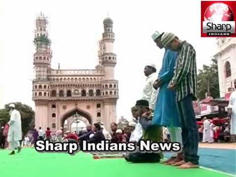 Namaz Juma'tul Wida [last friday of ramadan] in Makkah Masjid | Charminar,Hyderabad 2017.