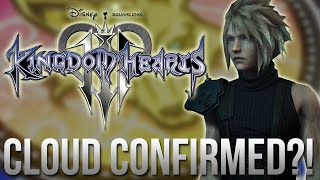 Kingdom Hearts 3 News - CLOUDS Return Confirmed?!