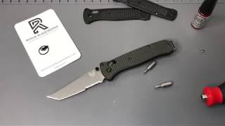 What's inside the 200 Benchmade Puukko?? Full Tang? - Zach's Stuff