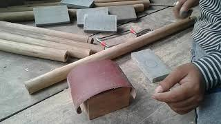 How to make Bamboo Flute tuning cork (Indian Bansuri) with s...