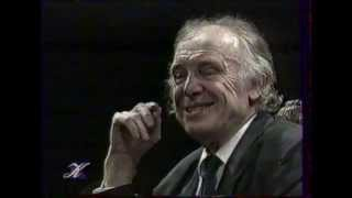 """И.Смоктуновский А.Пушкин """"Моцарт и Сальери"""", моноспектакль в Будапеште, в октябре 1993 года"""