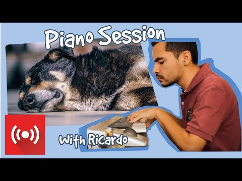 THANK YOU FOR 200,000 SUBSCRIBERS!!!!  Relax My Dog - Live Piano Music from Ricardo