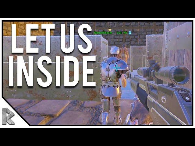 HE LET US INSIDE! - QUAD RAID Pt. 1 - Ark Survival Evolved Thieves Island PVP S2#12