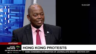 Analysing Hong Kong protests with Prof. Zilungisele Tembe