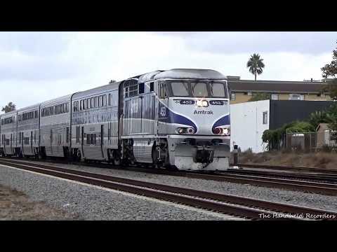 Metrolink, Amtrak, Coaster, and Sprinter Action At Oceanside