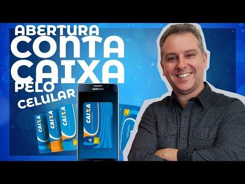 Abertura de Conta Caixa pelo Celular - Cartões de Crédito Alta Renda - Leandro Vieira