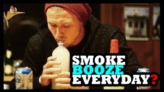 Repeat youtube video Smoking Alcohol Is a Thing? - Food Feeder