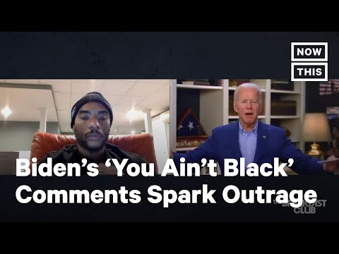Joe Biden Apologizes For 'You Ain't Black' Comments | NowThis