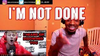 Just for Releasing that Trash!   Eminem - I'm Not Done (EMINEM MGK Diss Response Pt. 3)  REACTION
