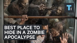 Best place to hide in a zombie apocalypse