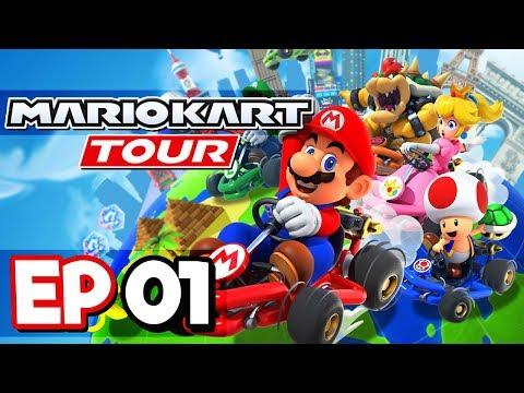 Mario Kart Tour Part 1 - Mario Kart On MOBILE! Android & IOS Gameplay Walkthrough