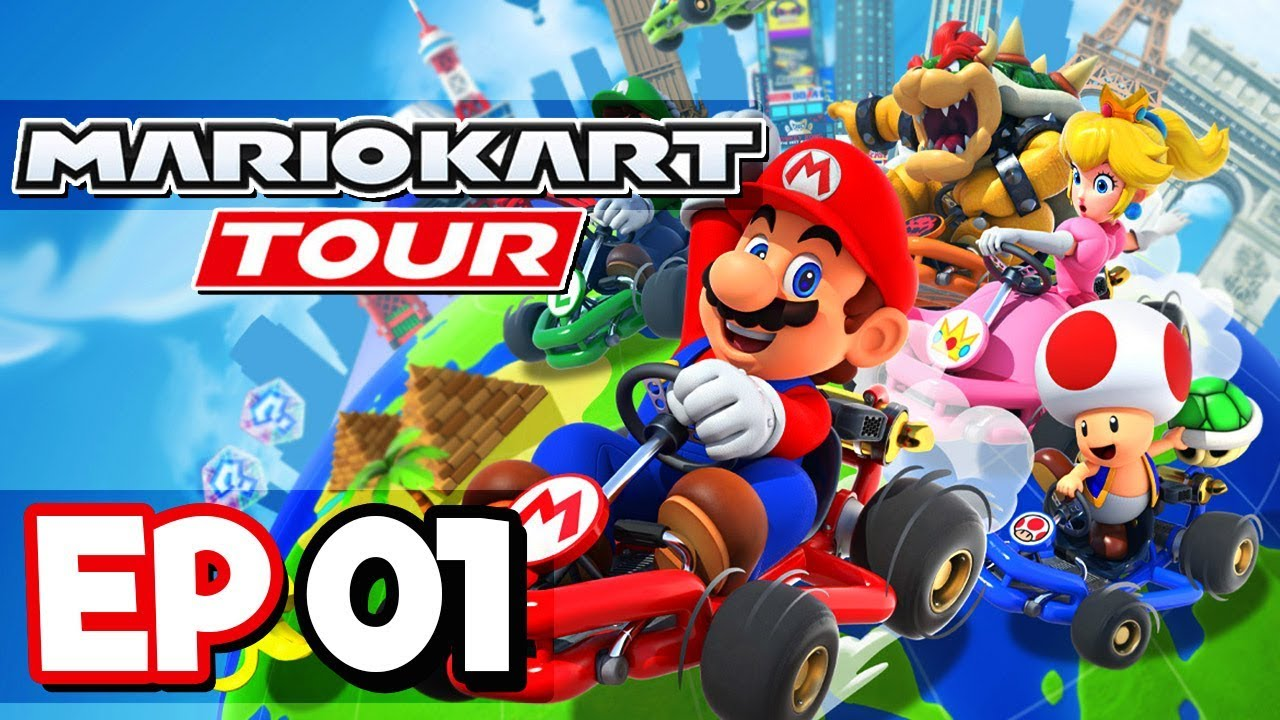 Nintendo's 'Mario Kart Tour' is out now for iPhone, iPad and Android