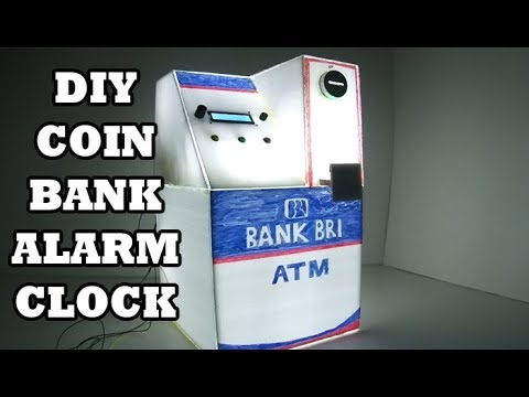 DIY Amazing Coin Bank with Arduino Alarm Clock - Recommended For Your Kids