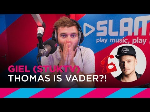 Thomas van StukTV blijkt kind te hebben - Reactie Giel | SLAM!