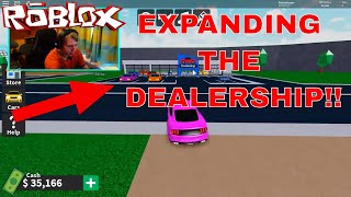EXPANDING THE DEALERSHIP!! | Roblox Vehicle Tycoon #2