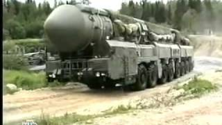 "Russian ""Topol-M ""The most powerful nuclear weapons in the world!"
