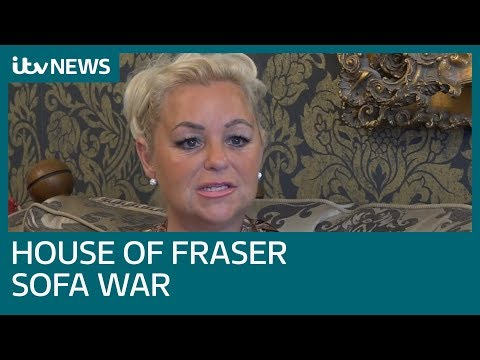 Mum had 'no choice' but to snatch House of Fraser sofa | ITV News