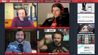 PKA 416 w/ Dick Masterson - Pathetic Meal Time, Brett Favre Trolled, Hood Conflict