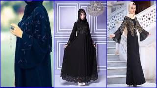 Fancy Lace Embroidered Abayas