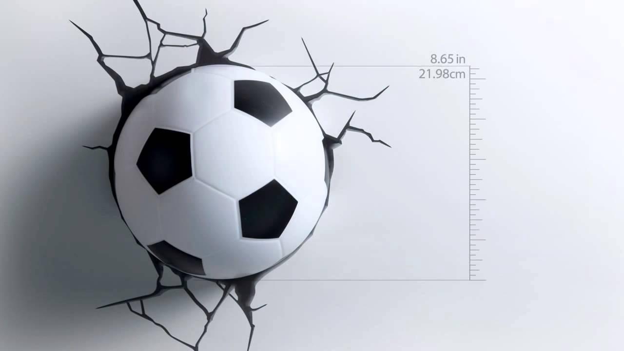 3d light fx deco lights soccer football led lights youtube mozeypictures Images